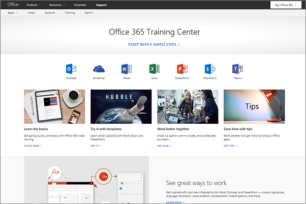 Just released: Free Office 365 training for IT pros, small business, and end users - Microsoft Tech Community