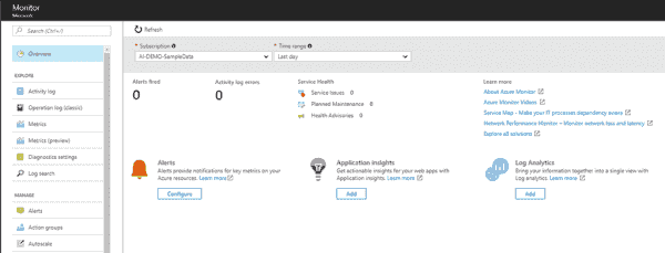 End-to-end monitoring solutions in Azure for Apps and Infrastructure | Blog | Microsoft Azure
