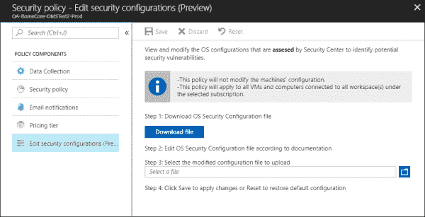 Azure Security Center adds support for custom security assessments | Blog | Microsoft Azure