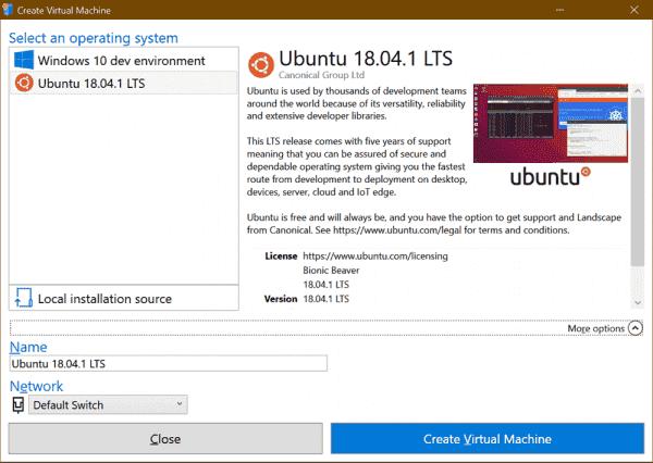 Using Enhanced Mode Ubuntu 18.04 for Hyper-V on Windows 10 - Scott Hanselman