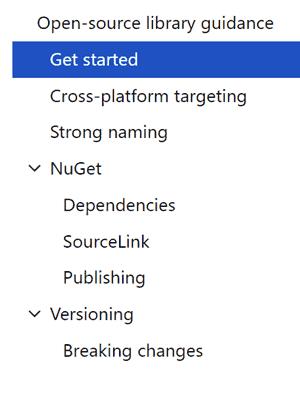 New prescriptive guidance for Open Source .NET Library Authors - Scott Hanselman
