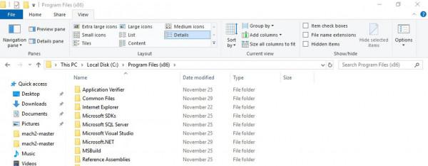 Windows 10 Testing New Conversational Date Format in File Explorer