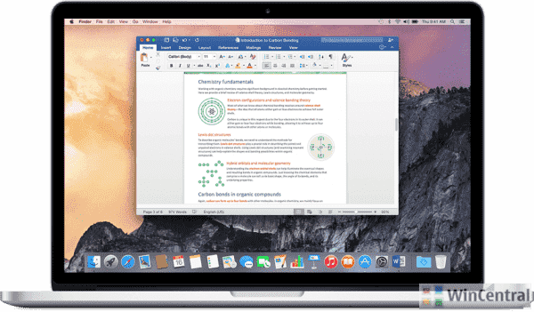Microsoft's new Office Slow ring Insider Build for MAC users brings a couple of new features | WinCentral