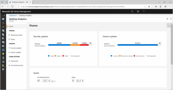 Microsoft officially launched Desktop Analytics, helps IT evaluate Windows upgrade readiness   OnMSFT.com