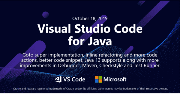 Java on Visual Studio Code October Update | Visual Studio Blog