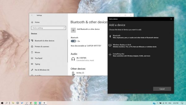 Windows 10's update may come with new Bluetooth features