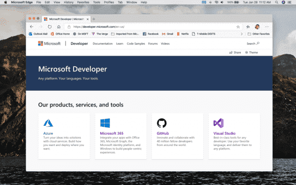 Microsoft introduces new Fluent-inspired Developer portal   OnMSFT.com