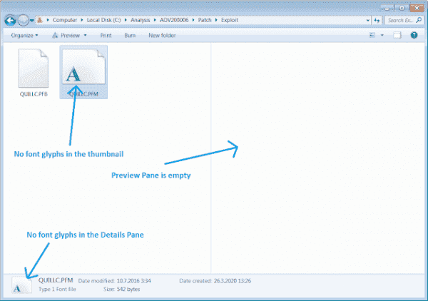 0Patch publishes micropatch to address Windows Font Parsing vulnerability - gHacks Tech News