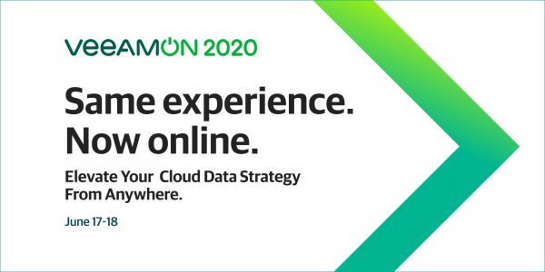VeeamON 2020 is Moving Online and it's Free