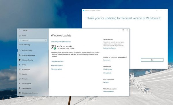 OneDrive app prevents Windows 10 v2004 update for some users