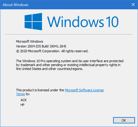 Windows 10 v2004 now available to ALL via Windows Update