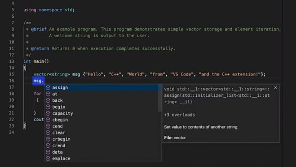 Microsoft Brings C++ Support to Visual Studio Code - Thurrott.com