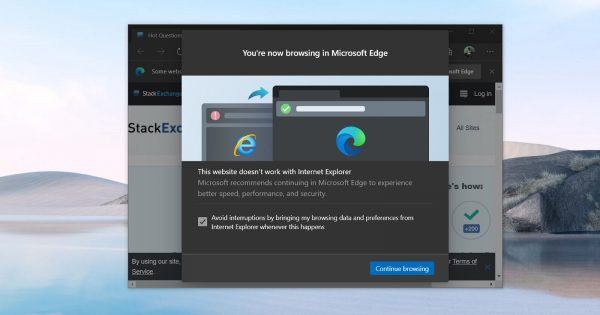 Microsoft starts taking desperate steps to stop you using Internet Explorer