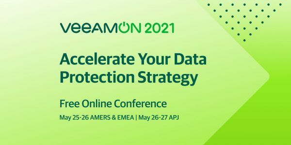 Join VeeamON 2021 Free Online Conference
