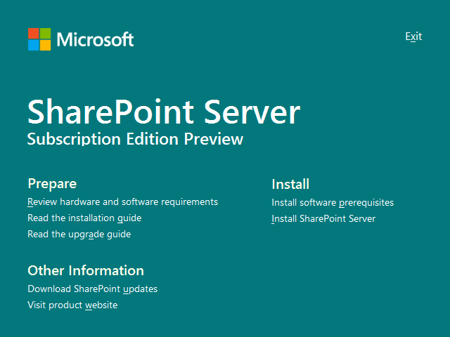 A new day for SharePoint Server - SharePoint Server Subscription Edition preview