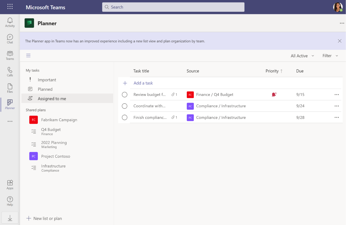 New capabilities for the Microsoft Planner app in Microsoft Teams for GCC customers - Microsoft Tech Community