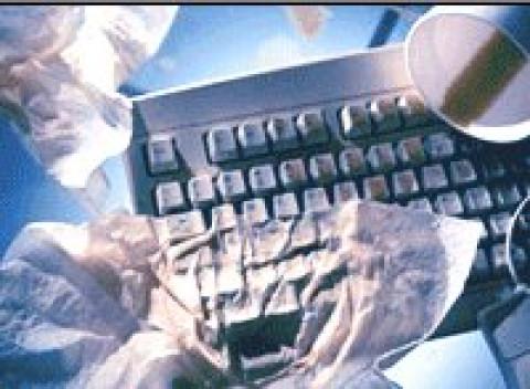 Keyboard against malware