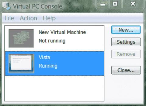 Review Microsoft Virtual PC 2007 RTM