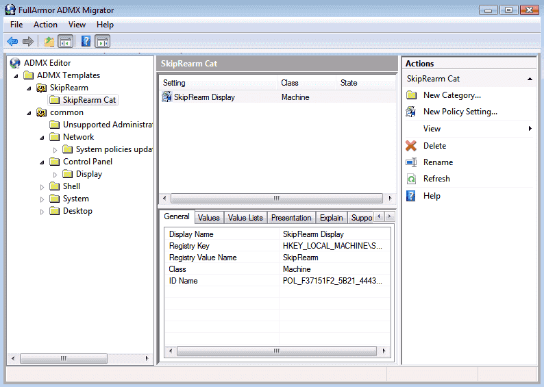 FullArmor ADMX Migrator 1 2: Migrate and edit Group Policy