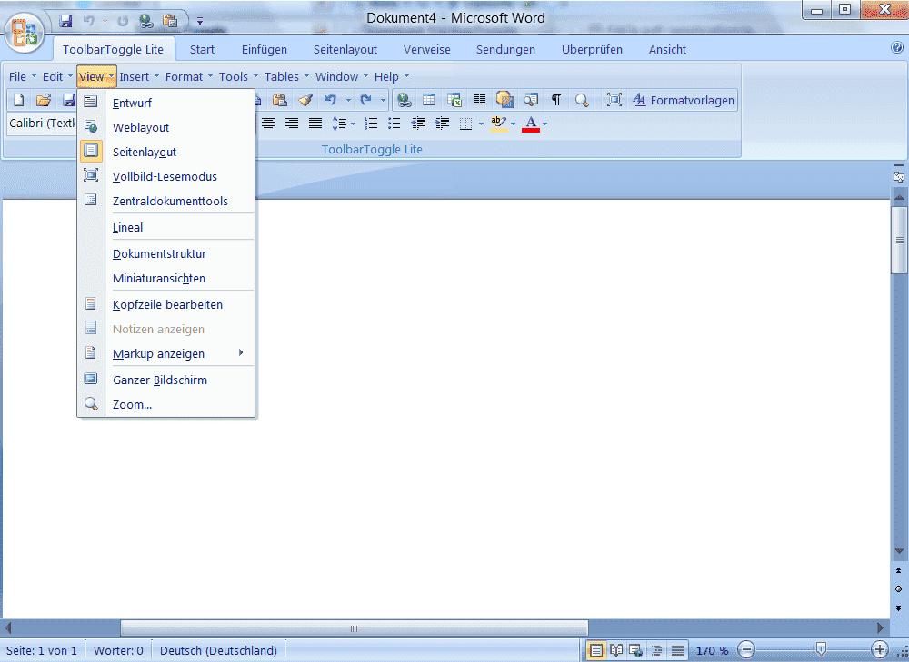 Toolbar Toggle Lite