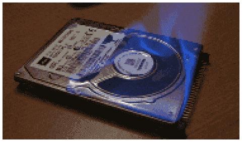 Vista burns laptop hard disks - Failure eight times higher than under XP
