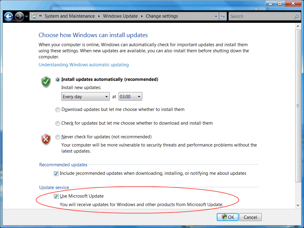 Download the latest windows update Agent manually