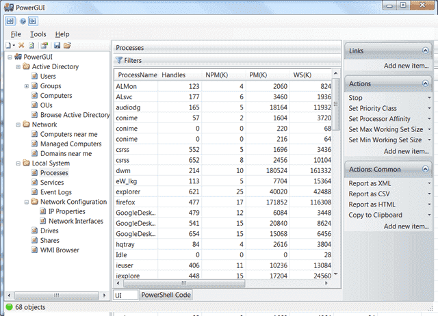 FREE: PowerGUI – Create PowerShell scripts with a GUI – 4sysops