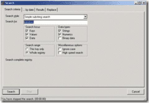 FREE: RegAlyzer - A nifty free Registry editor