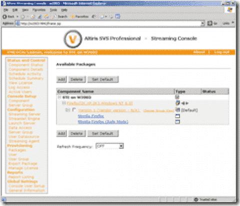 Review: Symantec Altiris SVS Professional Streaming System