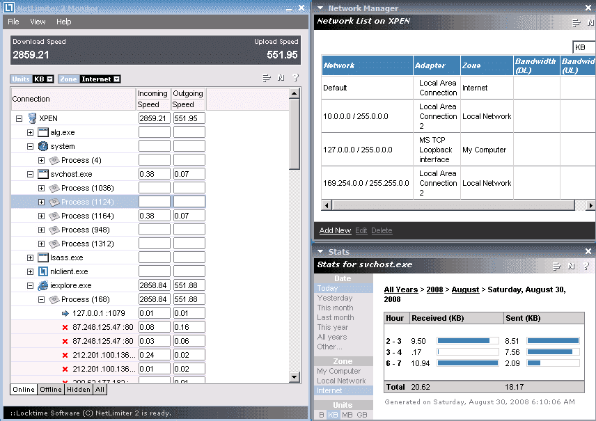 Netlimiter monitor 2