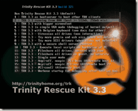 FREE: Trinity Rescue Kit (TRK) – Recover Windows using Linux