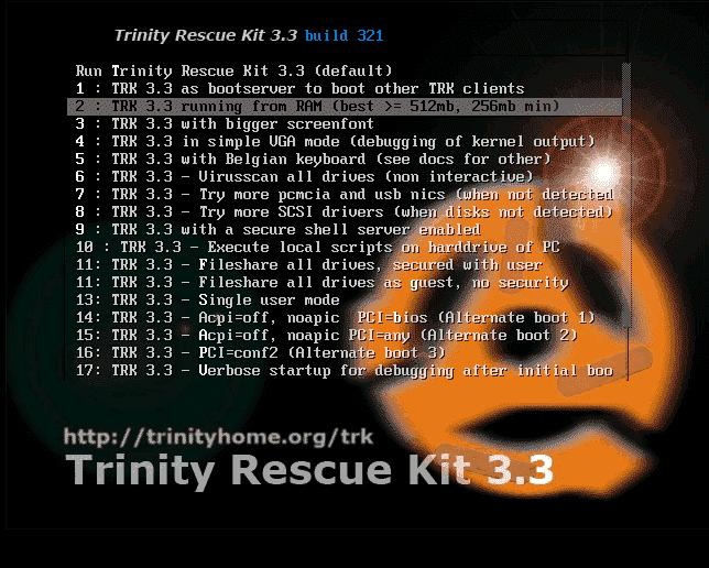 trinity rescue kit 3.3 reset password windows 7 download
