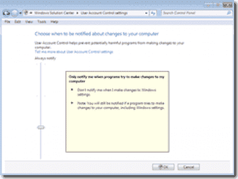 Windows 7 new features – the complete list – Part3: Security
