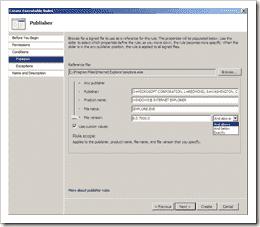 AppLocker-Create-Executable-Rules2