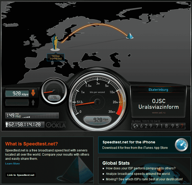 Speedtest.net - measure your network speed to locations ...