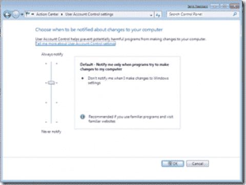 Windows 7 UAC vulnerabilities