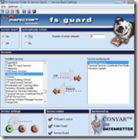 FREE: fs guard – Monitor services and directories