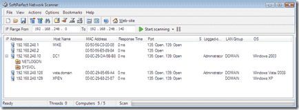 SoftPerfect-Network-Scanner