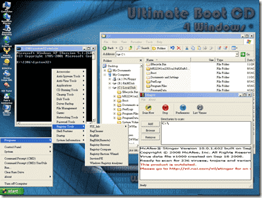 FREE  UBCD4Win – Ultimate Boot CD for Windows, a comprehensive ... c51fd942ba