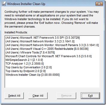 windows-installer-cleanup