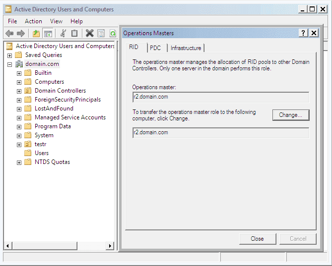 How to migrate the Active Directory domain functional level
