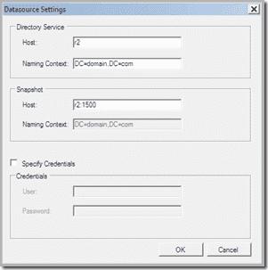 DSCT-Datasource-Setttings