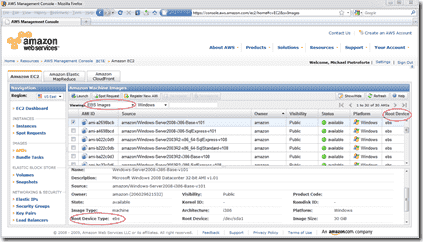 Amazon EC2 Launch EBS Instance