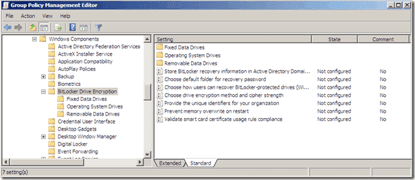 BitLocker-Group-Policy