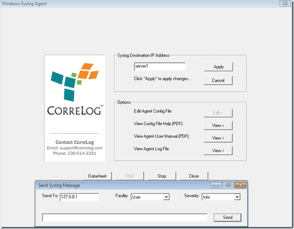CorreLog-Windows-Agent