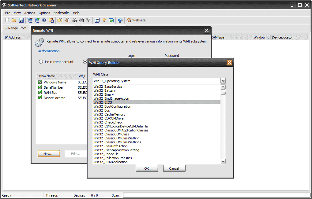 FREE: SoftPerfect Network Scanner – IP, NetBIOS, WMI and