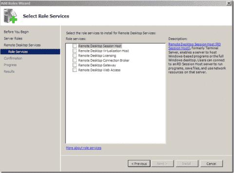 Microsoft VDI - Remote Desktop Services terminology