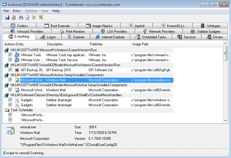 how to autorun an application with rdp