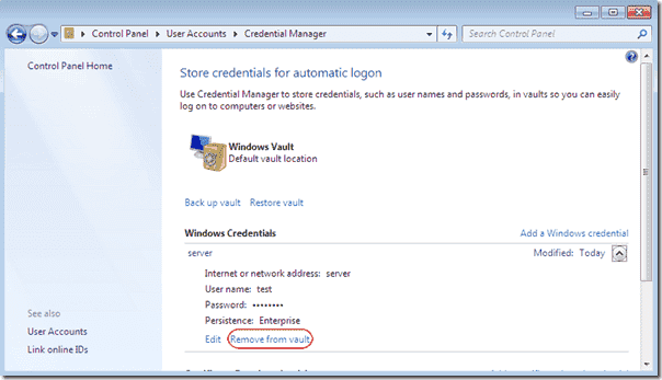 disable credential manager windows 10 group policy ▷▷ a c i