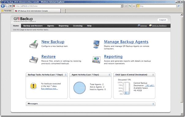 GFI Backup Business Edition